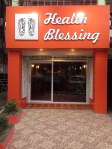Health blessing Spa in Yangon