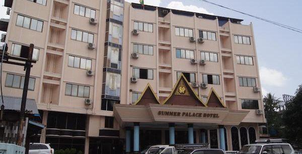 Summer palace hotel
