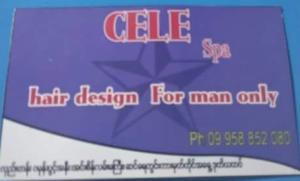 Cele spa for man